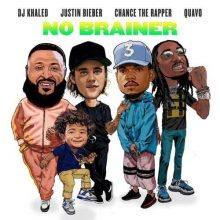 DJ Khaled, Justin Bieber, Chance the Rapper, Quavo-No Brainer