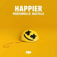 marshmello,bastille happier