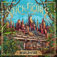 Stick Figure World on Fire