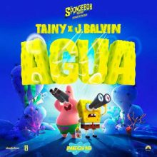 "Tainy, J Balvin Agua (Music From ""Sponge On The Run"" Movie)"